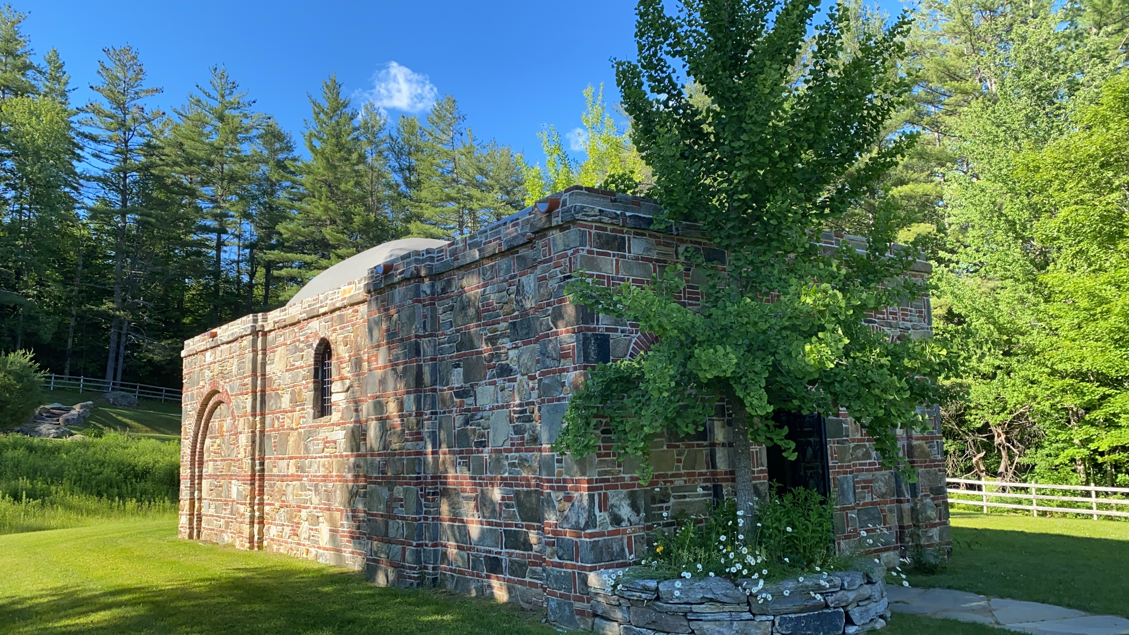 The replica of the House of the Virgin Mary in Jamaica, Vt.